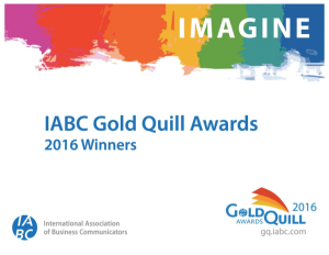 Gold Quill Photo